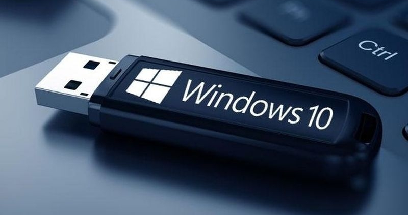 usb bellekten windows kurulumu